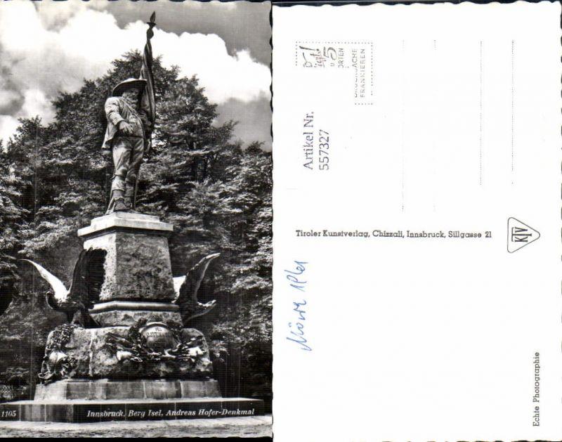 557327,Tiroler Freiheitskampf Andreas Hofer Denkmal Berg Isel Innsbruck