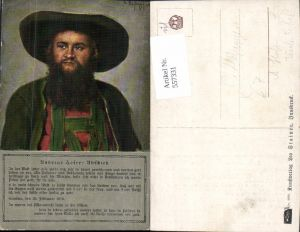 557331,Künstler AK Franz v. Defregger Tiroler Freiheitskampf Andreas Hofer Portrait Abschied