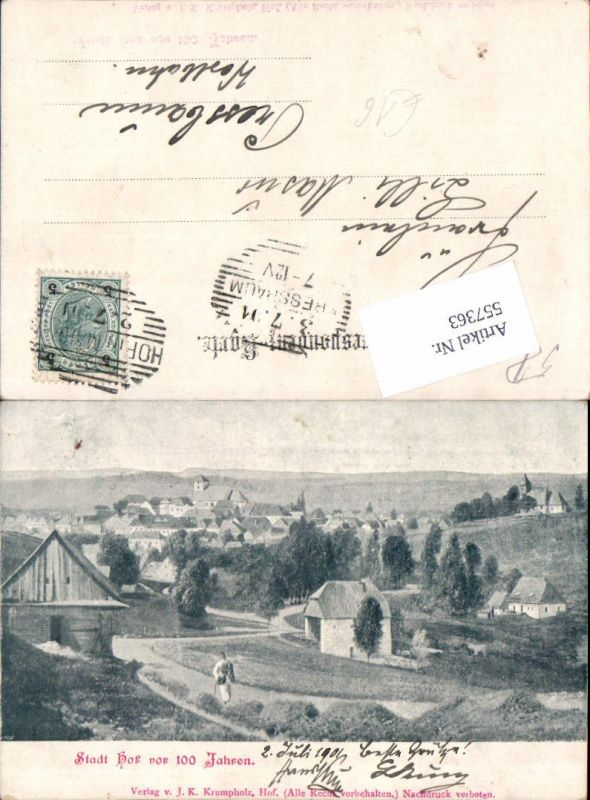 557363,Stadt Hof vor 100 Jahren Hof in Mähren Dvorce u Bruntalu Bruntal Freudenthal Beroun Bärn