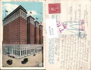 557849,New York City Hotel Pennsylvania Stp. Nachgebühr