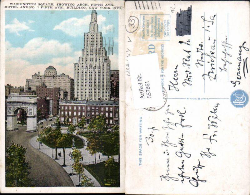 557861,New York City Washington Square Fifth Avenue