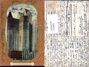 557863,New York City City Investing Building Passepartout