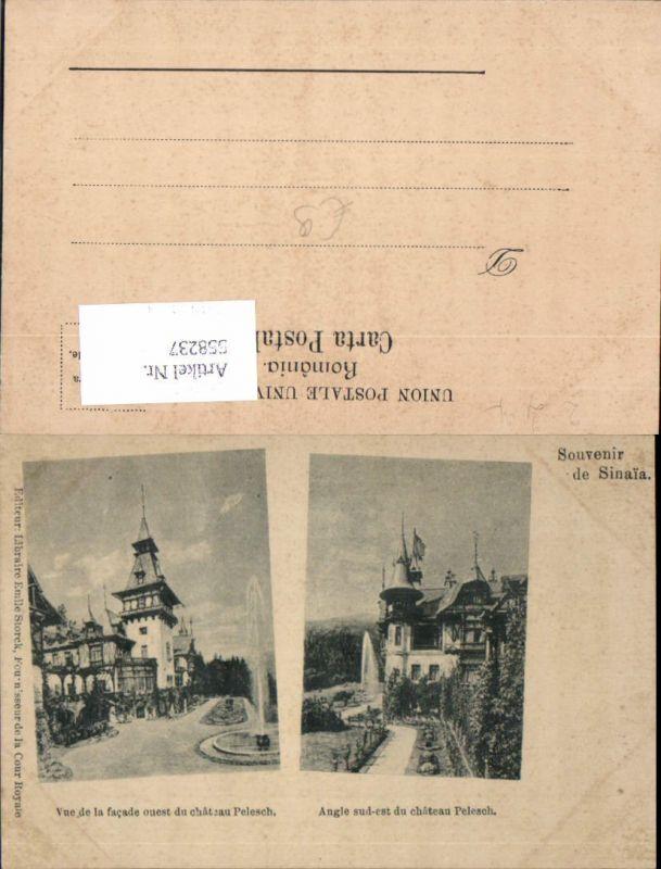 558237,Romania Souvenir de Sinaia Pelesch Schloss