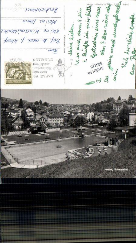 560118,Heiden Schwimmbad Bad Freibad Appenzell Ausserrohden