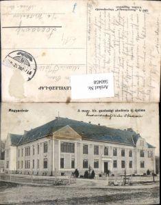 560458,Hungary Magyarovar A magy kir. Gazdasagi akademia uj epülete Gebäude