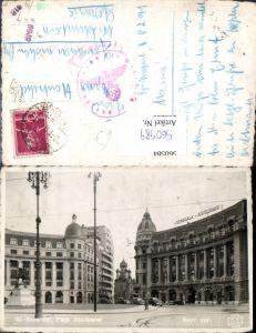 560589,Romania Bucuresti Bukarest Piata Academiei