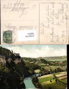 560874,Rudelsburg u. Saaleck Naumburg Saale
