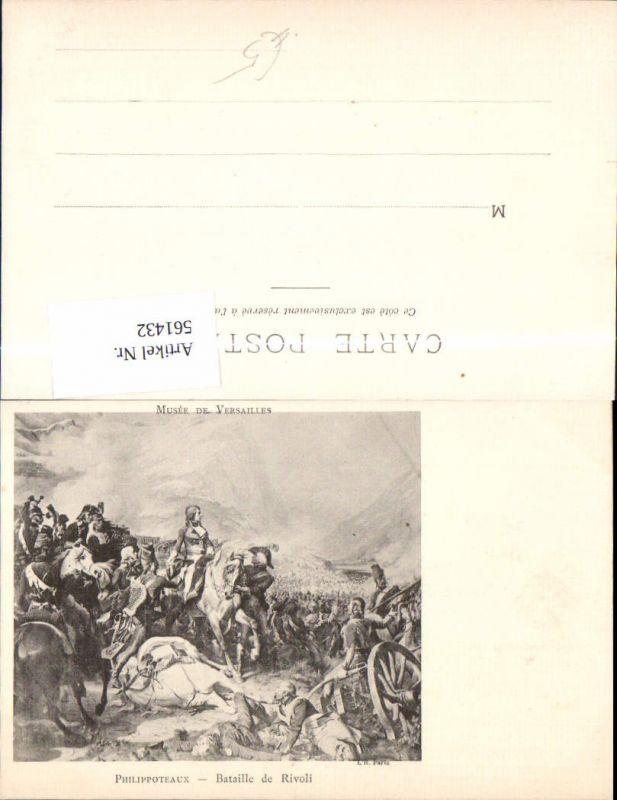 561432,Französische Revolution Napoleon Bonaparte Philippoteaux Bataiööe de Rivoli