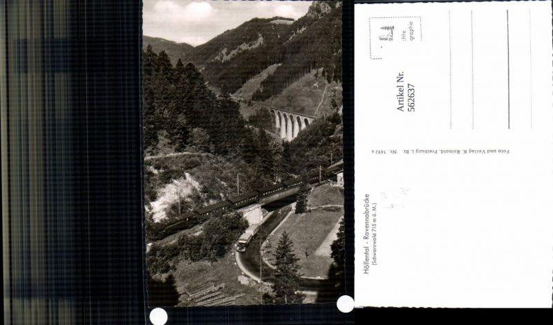 562637,Eisenbahn Lokomotive Zug Höllental Ravennabrücke Schwarzwald
