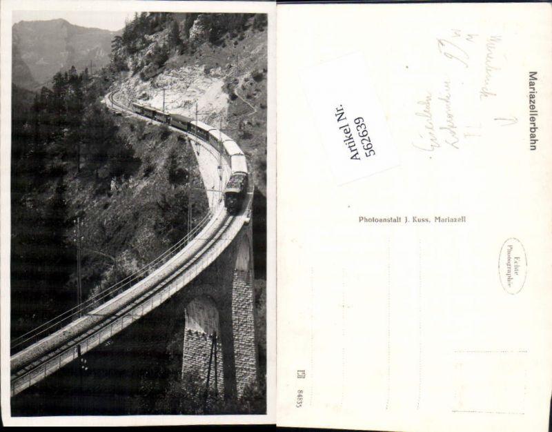 562639,Eisenbahn Lokomotive Zug Mariazellerbahn Wienerbruck Viadukt