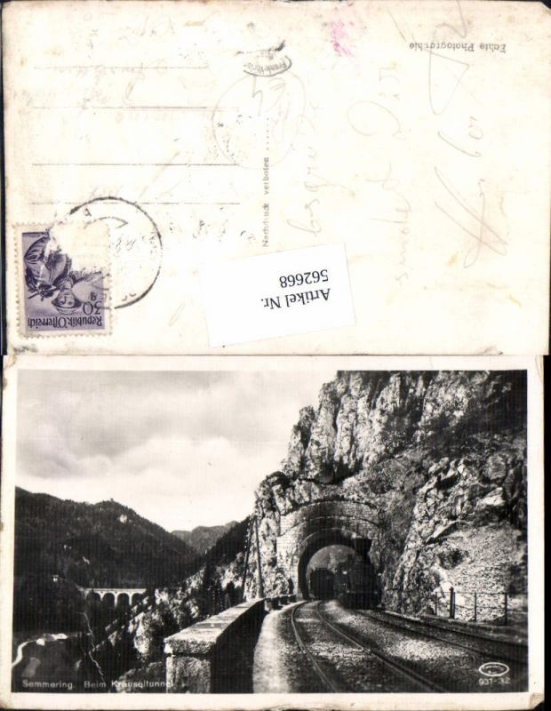 562668,Eisenbahn Lokomotive Zug Semmering Krauseltunnel Dampflok