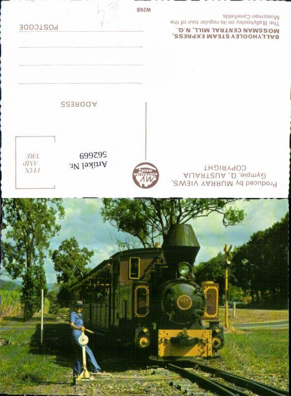 562669,Eisenbahn Lokomotive Zug Ballyhooley Steam Express Mossman Central Mill Dampflok