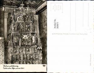 563071,Foto Ak Salzburg Hohensalzburg Goldene Sube Gotischer Ofen Heizung pub Cosy