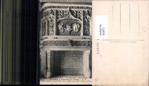 563075,Blois Le Chateau Cheminee a l Ecusson de France Kamin Ofen Heizung