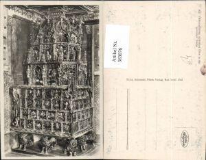 563076,Foto Ak Salzburg Hohensalzburg Goldene Sube Gotischer Ofen Heizung