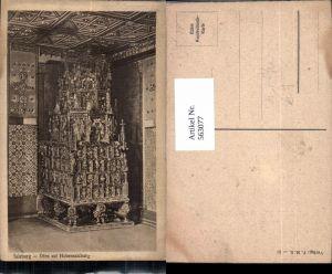 563077,Salzburg Hohensalzburg Goldene Sube Gotischer Ofen Heizung