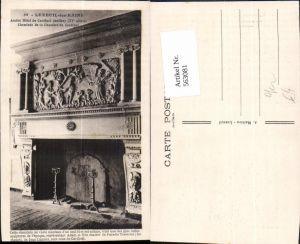 563081,Luxeuil-les-Bains Cheminee de la Chambre du Cardinal Kamin Ofen Heizung