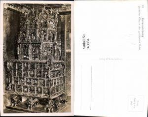 563084,Foto Ak Salzburg Hohensalzburg Goldene Sube Gotischer Ofen Heizung Ofen Heizung