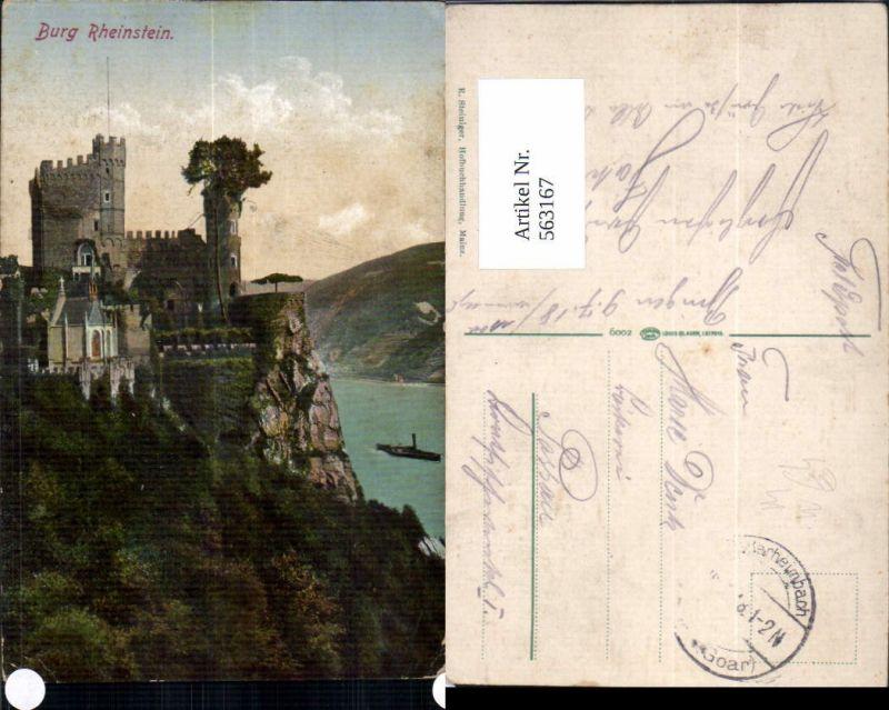 563167,Trechtingshausen Burg Rheinstein