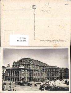 563175,Wien Staatsoper Straßenbahn Ringlinie Theater Oper