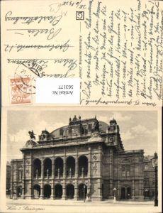 563177,Foto Ak Wien Staatsoper Theater Oper