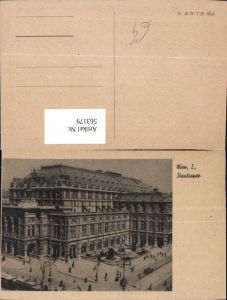 563179,Wien Staatsoper Theater Oper