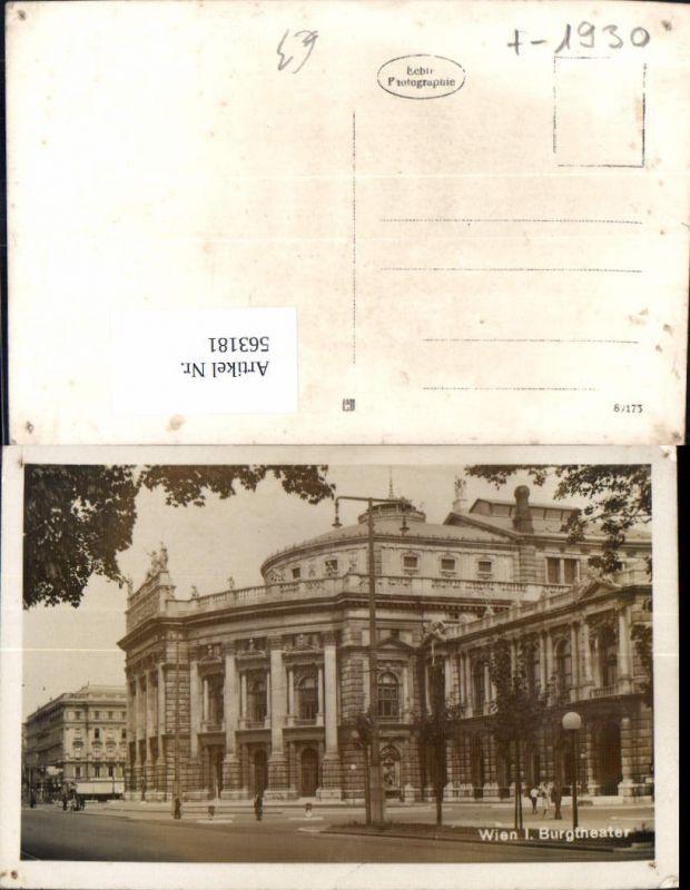 563181,Foto Ak Wien Burgtheater Theater Oper