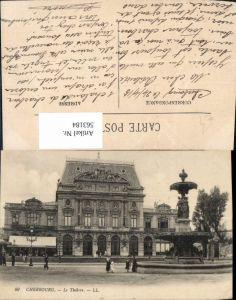 563184,Cherbourg Le Theatre Theater Oper Brunnen