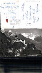 563576,Schloss Vaduz m. Falknis Liechtenstein