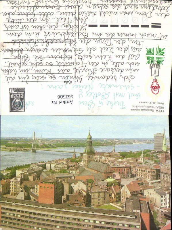 563586,Riga Teilansicht Pilsetas panorama