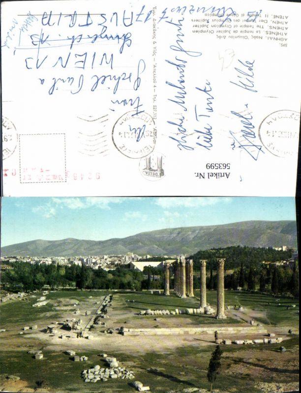 563599,Athen Athenes Jupiter Tempel Temple de Zeus Olympien Greece