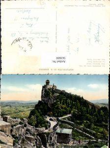 563600,Stadt San Marino Der zweite Turm Altstadt u. Burg