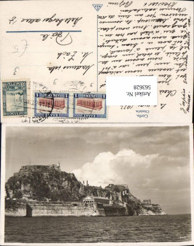 563628,Corfu Citadelle Korfu Greece