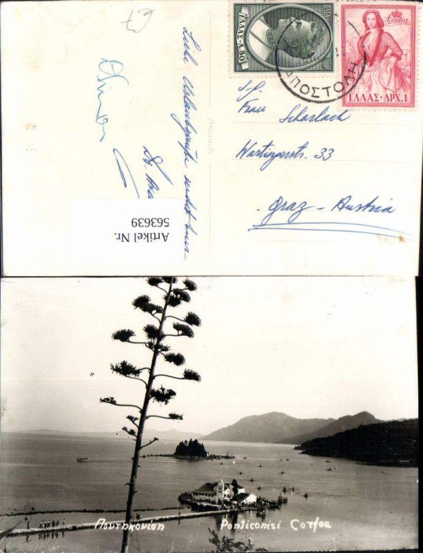 563639,Corfu Toteninsel Korfu Greece Ponticonisi