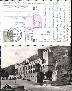 563641,Foto Ak Monaco Le Palais du Prince Palast