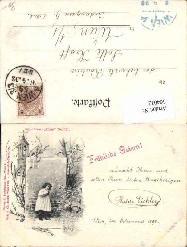 564012,tolle Künstler AK Jugendstil Ostern Scolik Collection Chic 101 Ostern