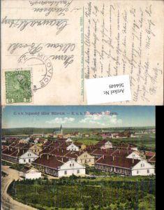 564449,C. a. k. Vojensky tabor Milovice Militärlager Milowitz b. Prag Praha Nymburk