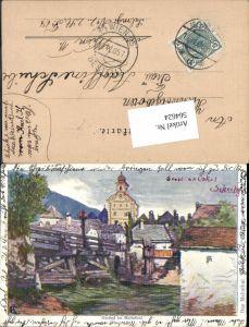564624,Lithographie Philipp & Kramer Georg Holub Gmünd im Maltathal