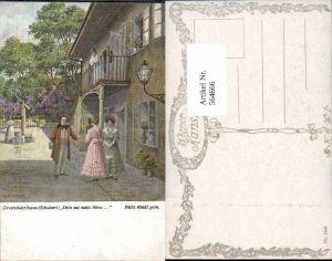 564666,Künstler AK Felix Riedl Dreimäderlhaus Schubert pub B.K.W.I. 1942
