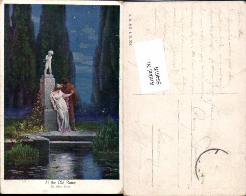 564678,Künstler AK Adolf Liebscher Liebe Liebespaar