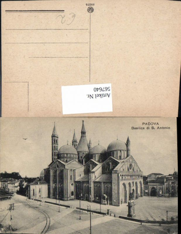 567640,Padova Padua Basilica di S. Antonio Basilika