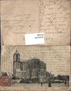 567646,Le Mans La Cathedrale Saint-Julien
