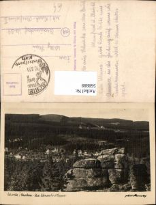 568889,Foto Ak Wernigerode Schierke Brocken Die Schnarcherklippen