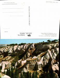 569755,Uchisar Nevsehir Türkei Burgfelsen