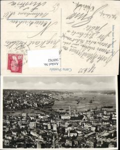 569762,Istanbul Vue Panoramique du Port Türkei
