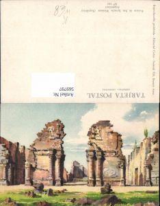569797,Künstler Ak Ruinas de San Ignacio Misiones Argentina