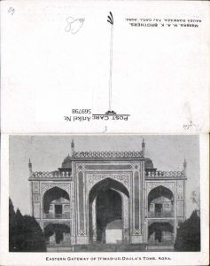 569798,Eastern Gateway of Itimad-ud-Daulas Tomb Agra India Indien