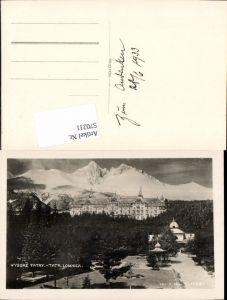 570211,Slovakia Vysoke Tatry Tatra Lomnica