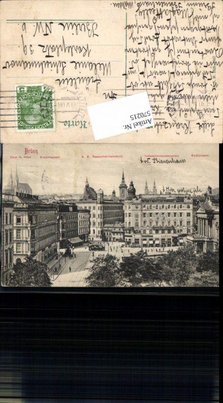 570215,Brünn Brno Staatsoberrealschule Krapfengasse