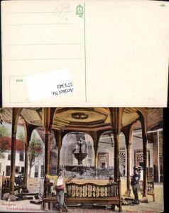 571343,Bosnia Sarajevo Vorhof Brunnen Begova Moschee Islam Dzamija